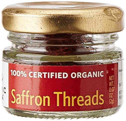 ORGANIC INDIA Saffron Threads, 2 gm