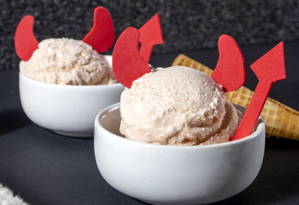 Spooky Peek-a-BOO Ice Cream Recipes for October