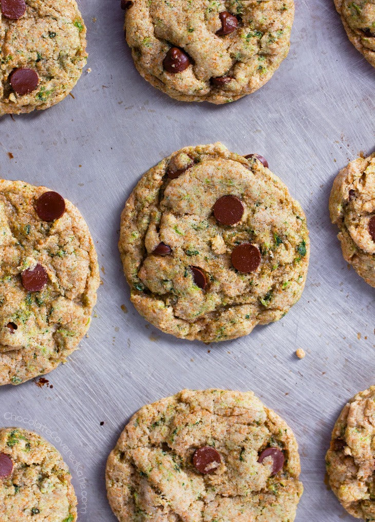 Chocolate Chip Kale Cookies