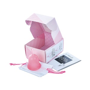 Coupe menstruelle Small en silicone médical Rose