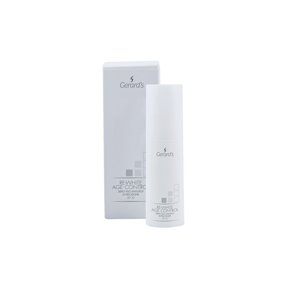 RE-WHITE AGE CONTROL SIERO BOOSTER ANTI-SPOT E UNIFORMANTE - Gerard's Cosmetic Culture