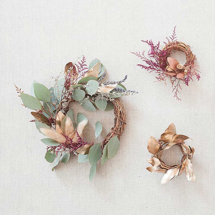 Seasonal Wreath Gift Toppers for Holiday Gifting