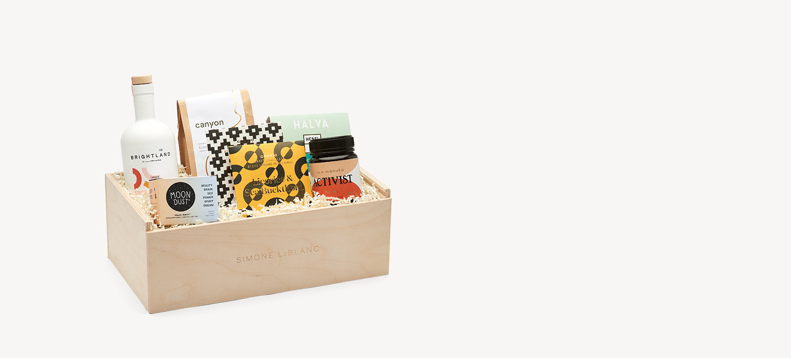 Curated Gift Boxes Fine Gifts Simone Leblanc Los Angeles