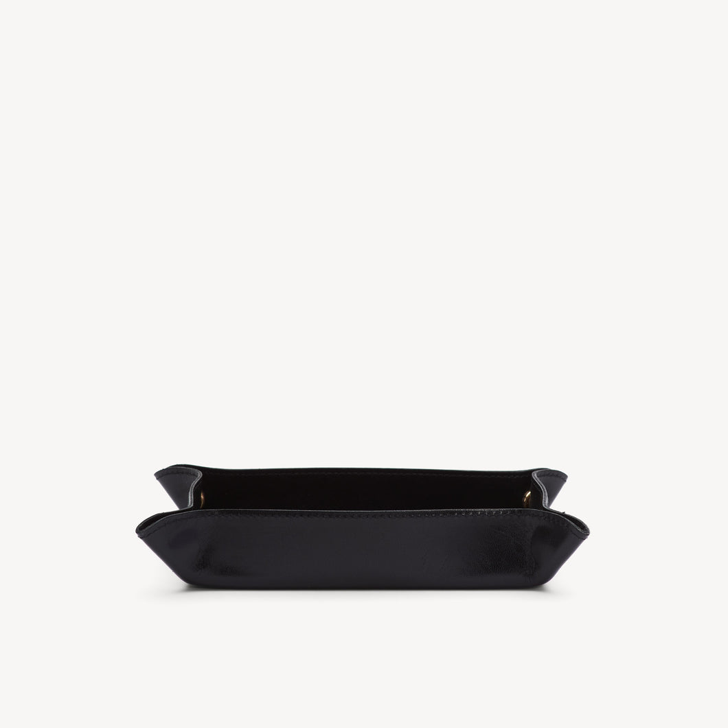 Leather Catchall Black