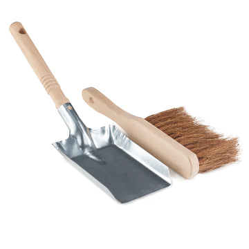 Dust Pan & Brush - FSC 100% - The Danes