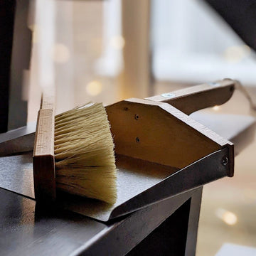 Dustpan & Brush Set - Magnetic and 100% FSC - The Danes