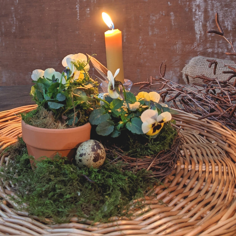 Easter & Spring Natural Tablescape In A Box - The Danes