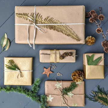 Brown Kraft Wrapping Paper - 10m, Recyclable - The Danes