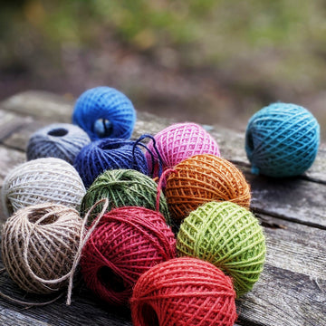 Natural Jute Twine from Nutscene - 40m Ball - The Danes