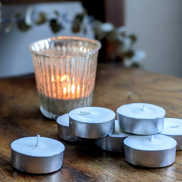 8 Tea Light Soy Candles - 5 Hour - The Danes