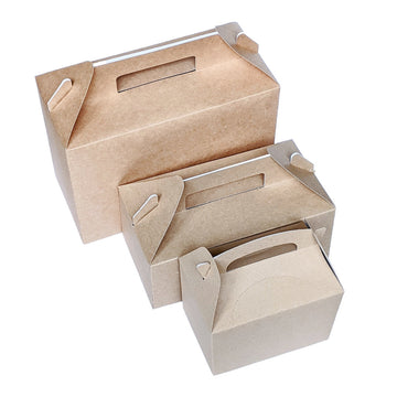 Recyclable Kraft Gablebox - 3 Sizes - The Danes
