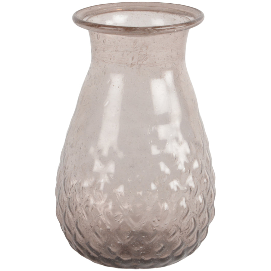 Recycled Glass Vase - Amethyst - The Danes