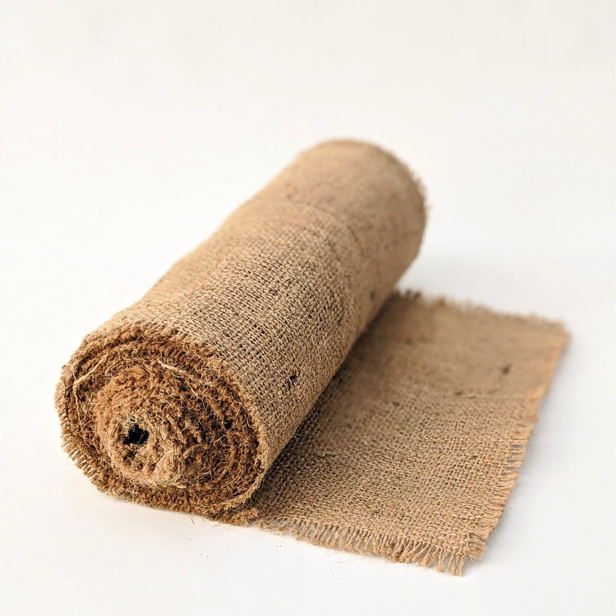 Rustic Hessian Burlap Table Runner - The Danes