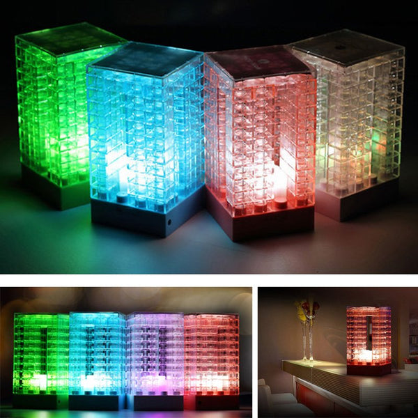 High Quality Photo Frame DIY Blocks Lamp