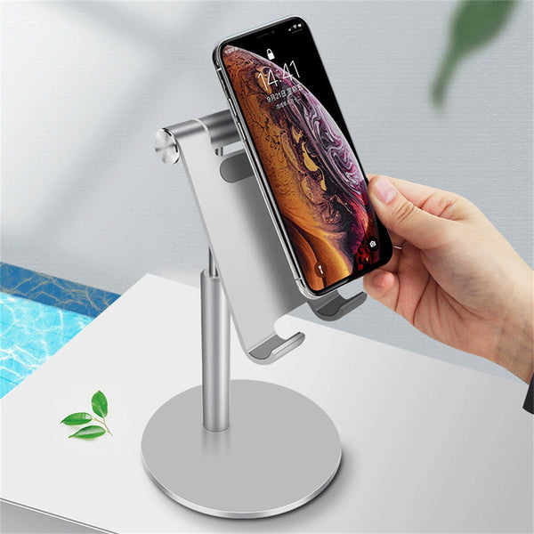 Portable Aluminum Desk Desktop Phone Stand Holder
