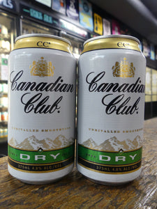 Canadian Club Whisky & Dry Can 375mL 4.8%