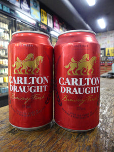 Carlton Draught Can 375ml 4.6%