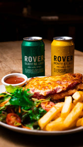Thursday Special - Parma & Hawkers Rover Beer
