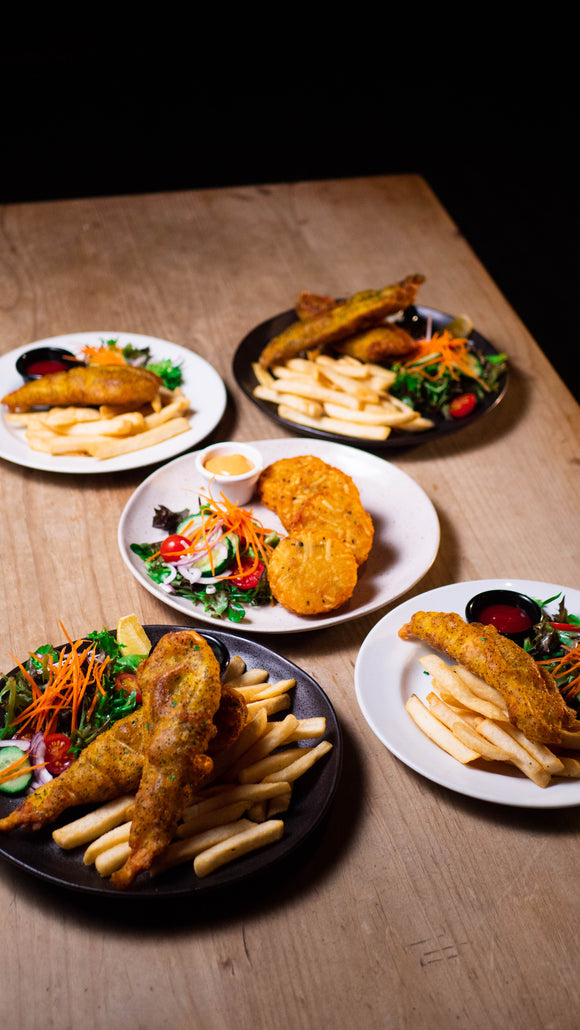 FAMILY PACK - Fish & Chips Night (GF)