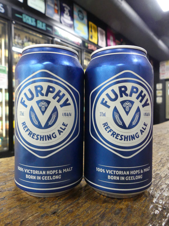 Furphy Refreshing Ale Cans 375ml 4.4%