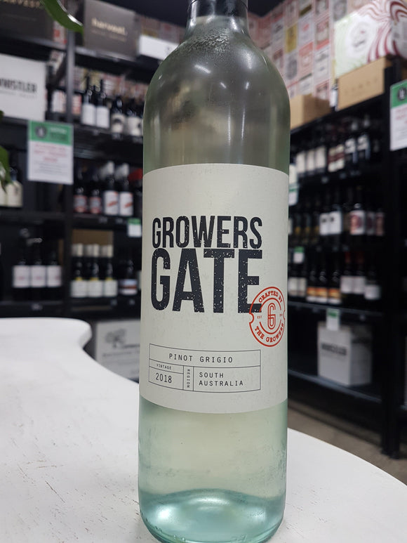 Growers Gate Pinot Grigio (SA) 750ml 12.5%