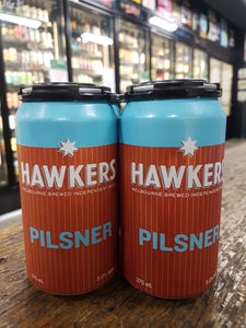 Hawkers Pilsner Can 375ml 5%