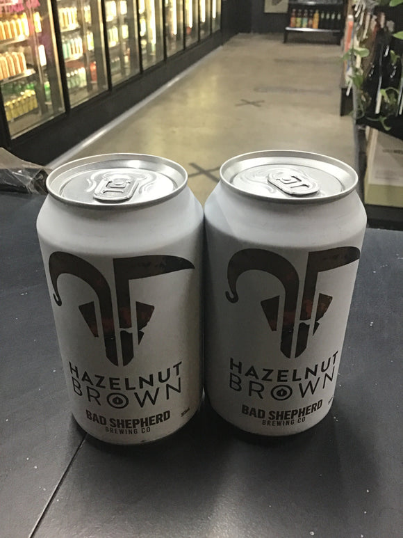 Bad Shepherd Brewing Hazelnut Brown Can 355ml 5.6%