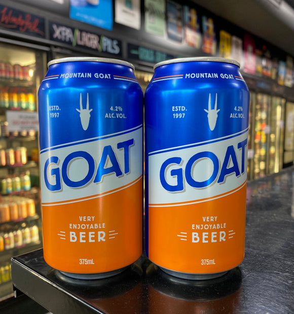 Mountain Goat Very Enjoyable Beer Can 375ml 4.2%