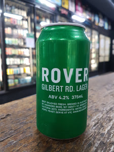 Rover Gilbert Rd Lager Cans 375ml 4.2%