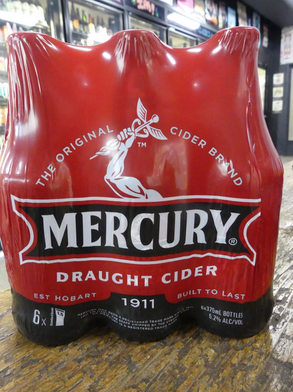 Mercury Draught Cider 375ml 5.2%