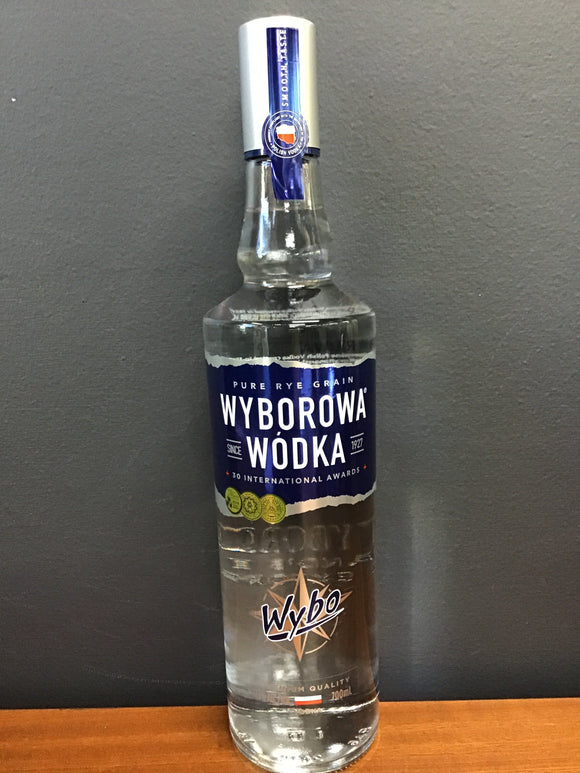 Wyborowa Vodka 700ml 37.5%