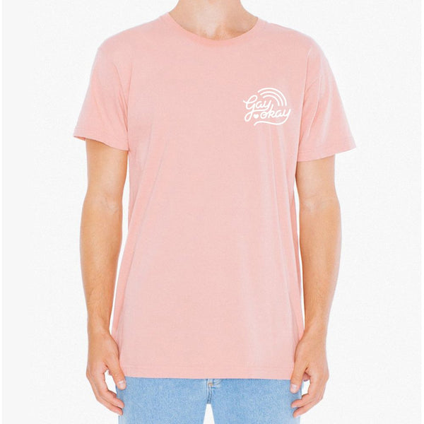 Gay Okay - Paulette Pink T-Shirt