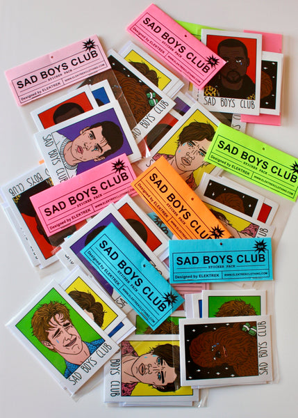 Sad Boys Sticker Pack