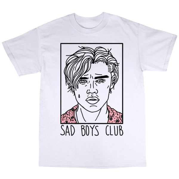 Sad Boys Club (Leo) - White T-Shirt