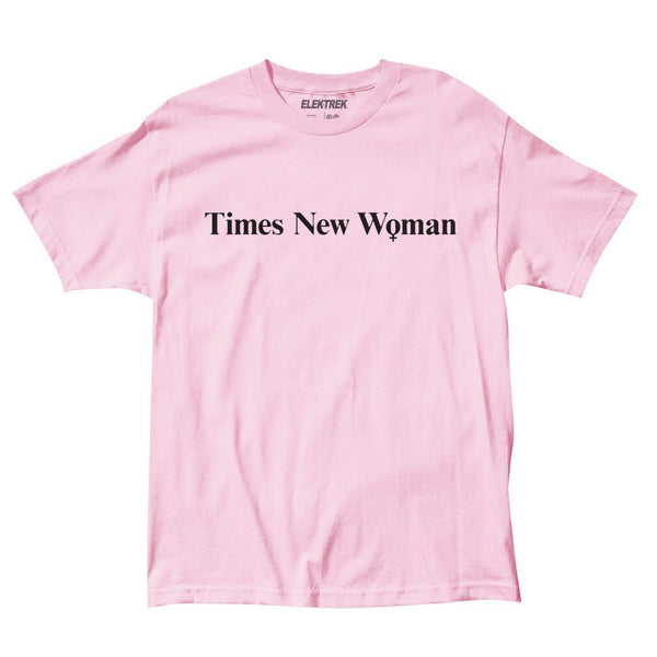 9faa17eb7 ... Times New Woman - Pink T-Shirt