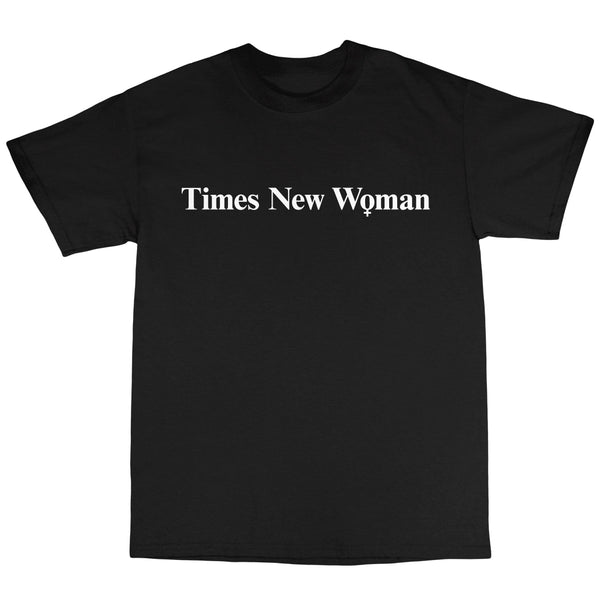 Times New Woman - Black T-Shirt