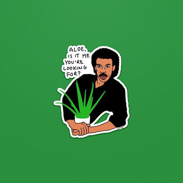 Lionel Richie Plant Daddy Sticker
