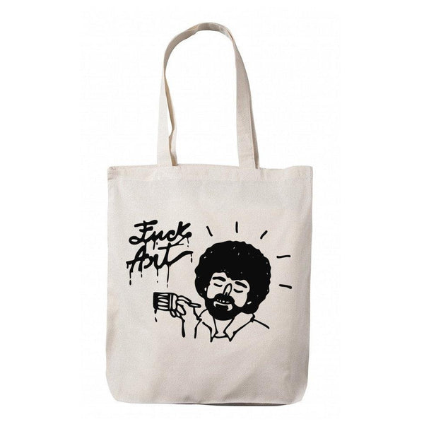 """Fuck Art"" Tote Bag"