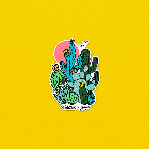 Le Cactus Club Sticker