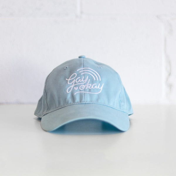 Gay Okay Dat Hat - Baby Blue