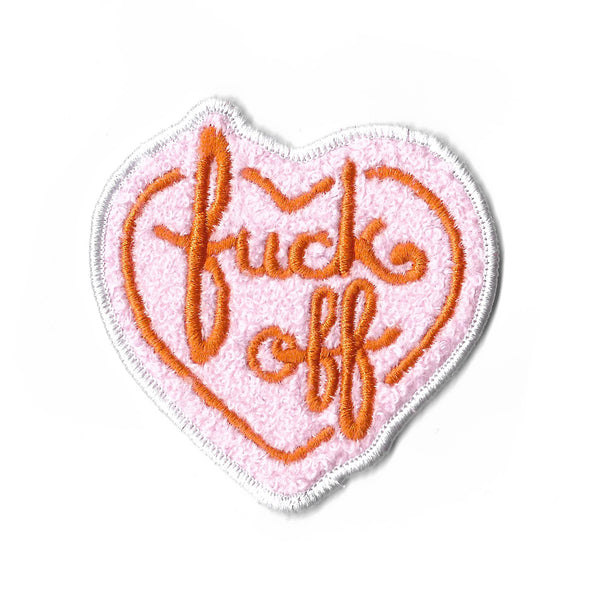 Fuck Off Patch en Chenille