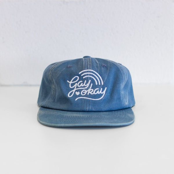 Gay Okay - 6 Panel Hat