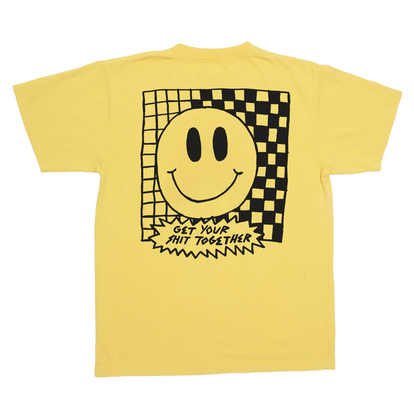 Get Your Shit Together - T-Shirt Jaune