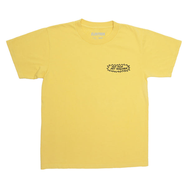 Get Your Shit Together Ltd Edition Yellow T-Shirt