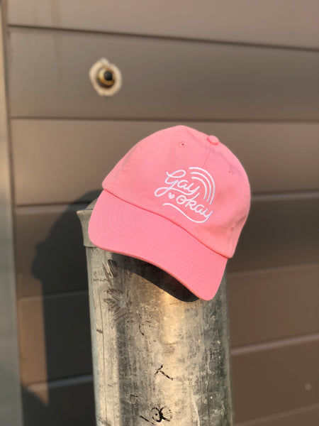 Gay Okay Dad Hat - Multi Colours