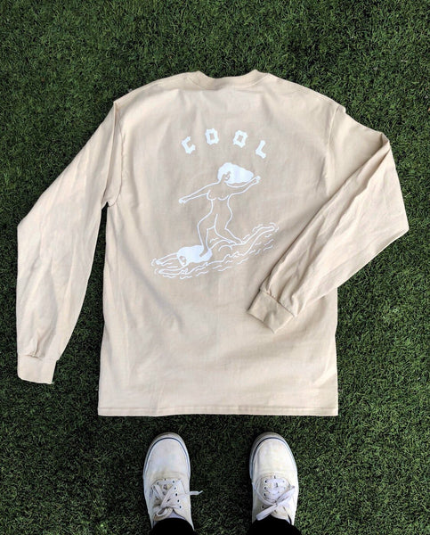 Cool Girls Sand Long Sleeve - Super Lmtd