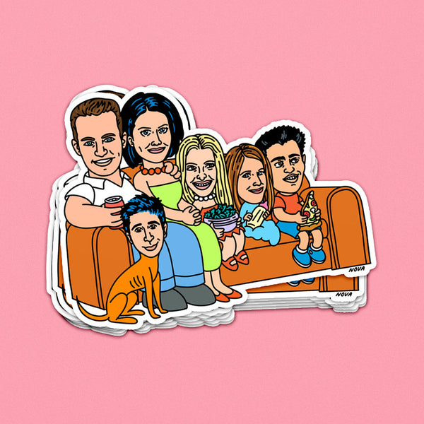 The Friendsons Sticker