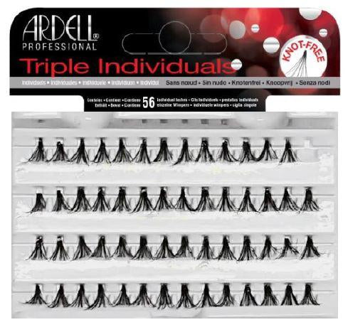 Triple Individuals Medium Black