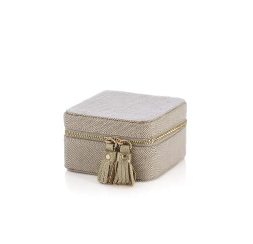 Accessory - Shiraleah Chicago Gigi Square Jewelry Box