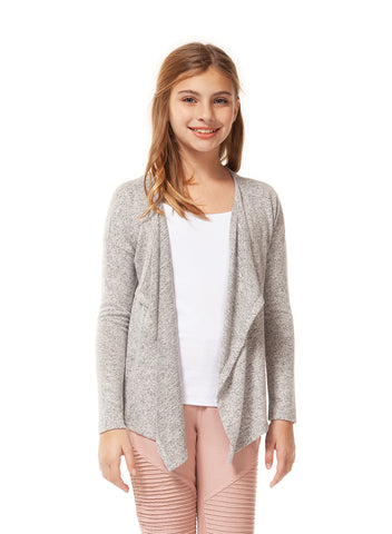 Top - Dex Kids Long Sleeve Open Cardigan